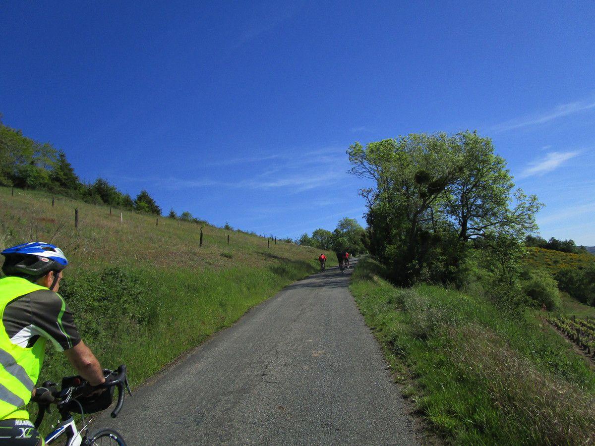 Les Ponts Tarrets  Randonneurs  16 Mai 2017