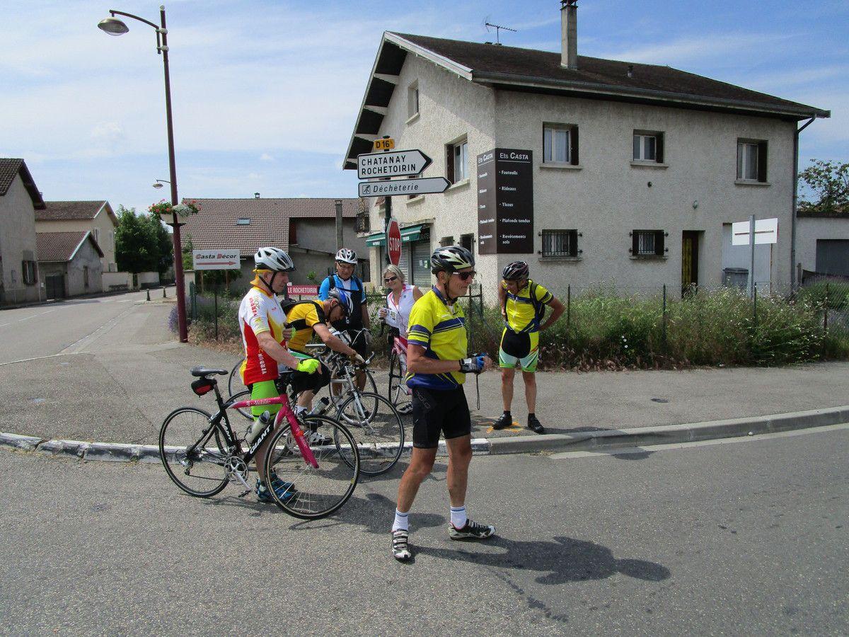Rochetoirin(38)  Journée conviviale  1 juin 2017