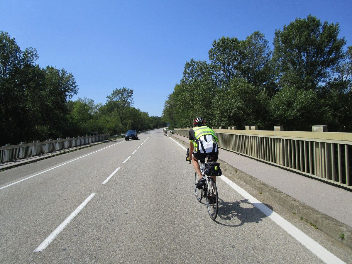 Température indiquée sur le GPS du vélo