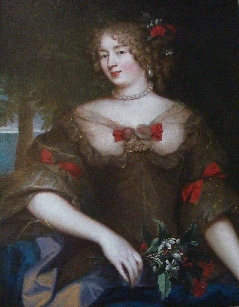 """Françoise de Sévigné, fille de l'épistolière, """"la plus jolie fille"""" de son temps."""