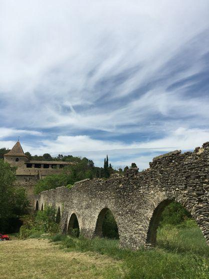 Balade autour de St-Polycarpe dans l'Aude