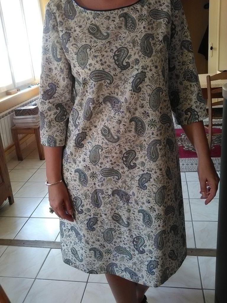 Tissu de ma grande tante ou la la pas jeune et passepoil BGF
