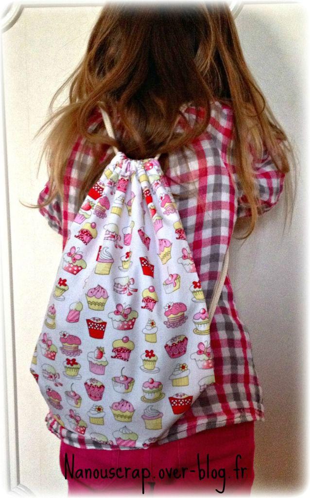 Un peu de couture : sac à dos maternelle