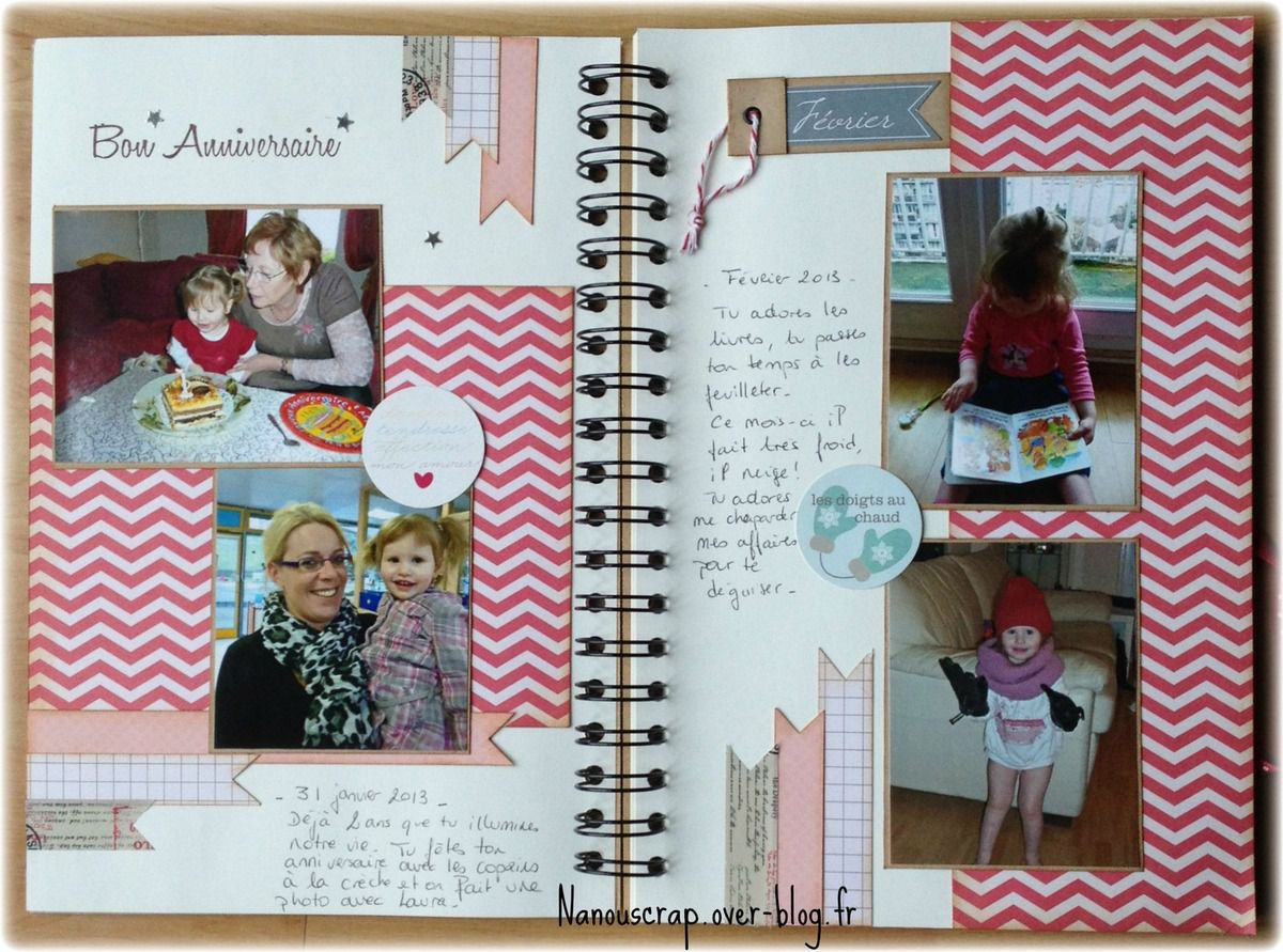 Le family diary - Swirlcards