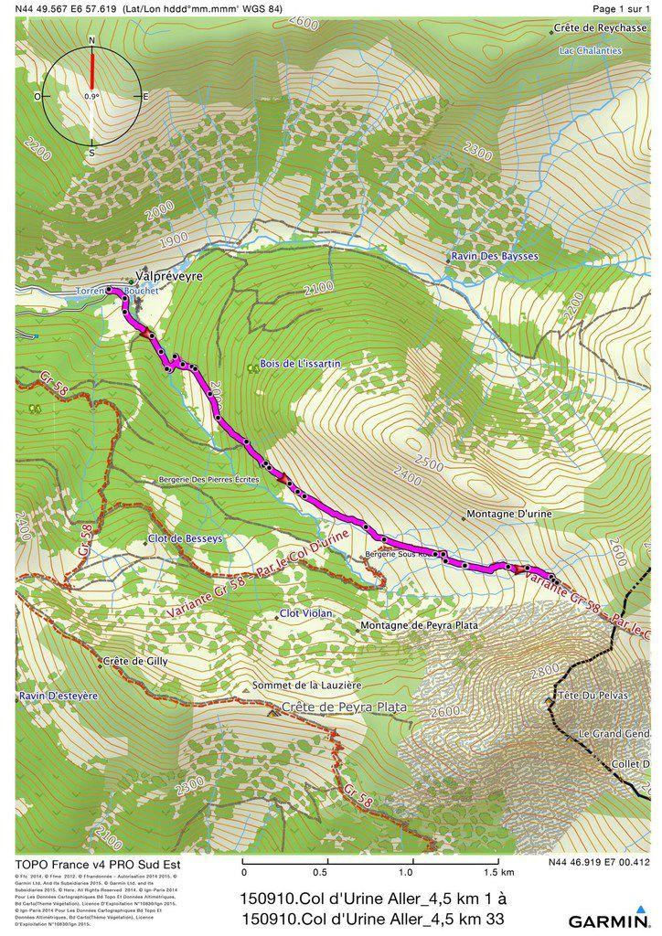 RANDONNEES DANS LE QUEYRAS, HAUTES-ALPES. EPISODE 4/4. Col Saint-Martin – Cascade de la Pisse – Col Urine – Aiguilles.