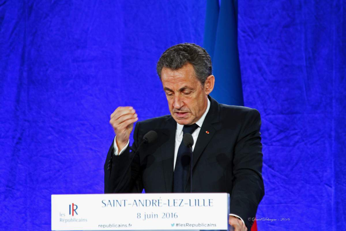 Nicolas Sarkozy chez les républicains du Nord