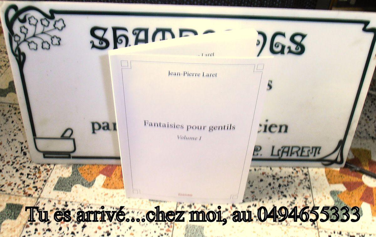 """""""Les Fantaisies pour Gentils"""" Table des matières"""