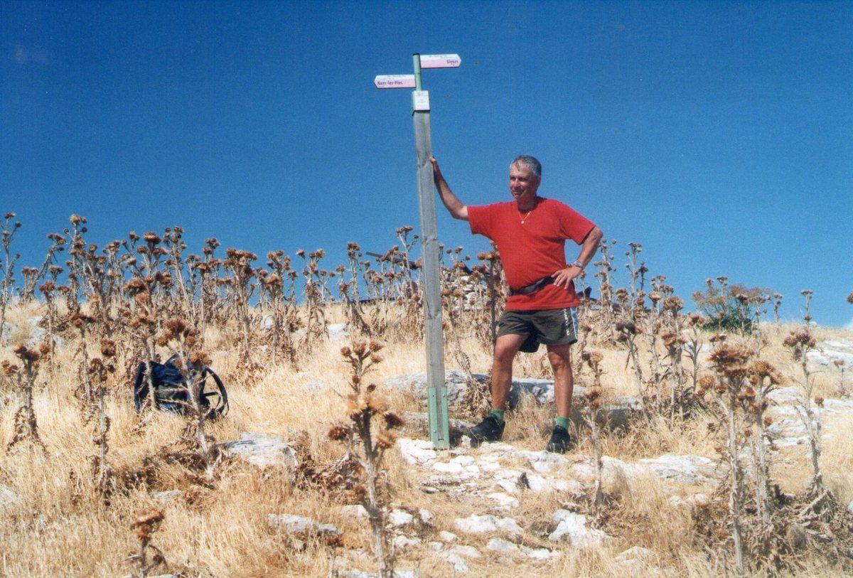 """""""Le """"Signal des Béguines"""", point culminant de la Sainte-Baume (1148 mètres)"""
