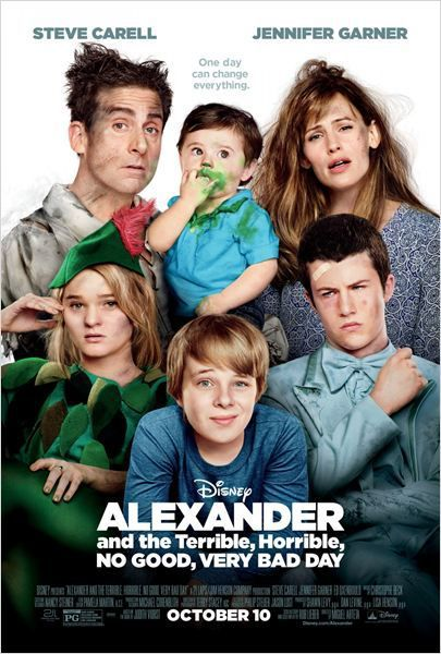 ALEXANDRE ET SA JOURNEE EPOUVANTABLEMENT TERRIBLE, HORRIBLE ET AFFREUSE (Alexander and the terrible horrible no good very bad day)