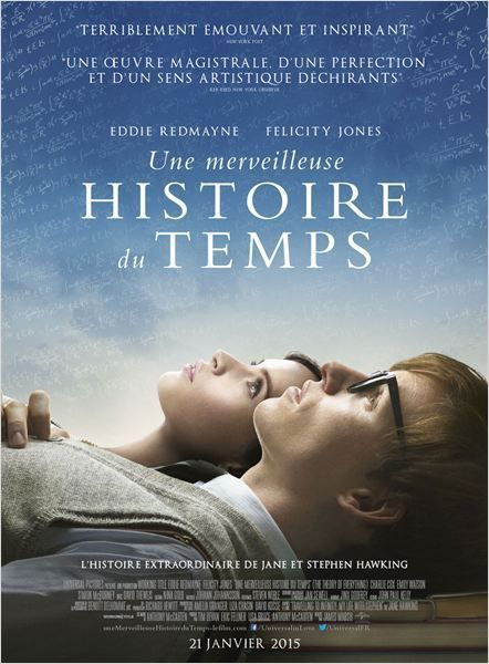 UNE MERVEILLEUSE HISTOIRE DU TEMPS (The Theory of Everything)