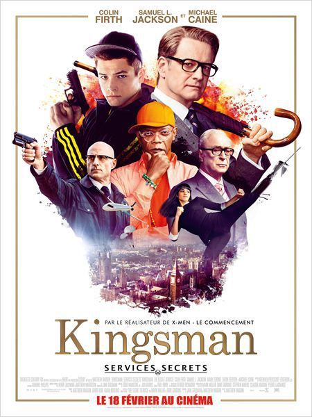 KINGSMAN : SERVICES SECRETS (Kingsman : The secret service)