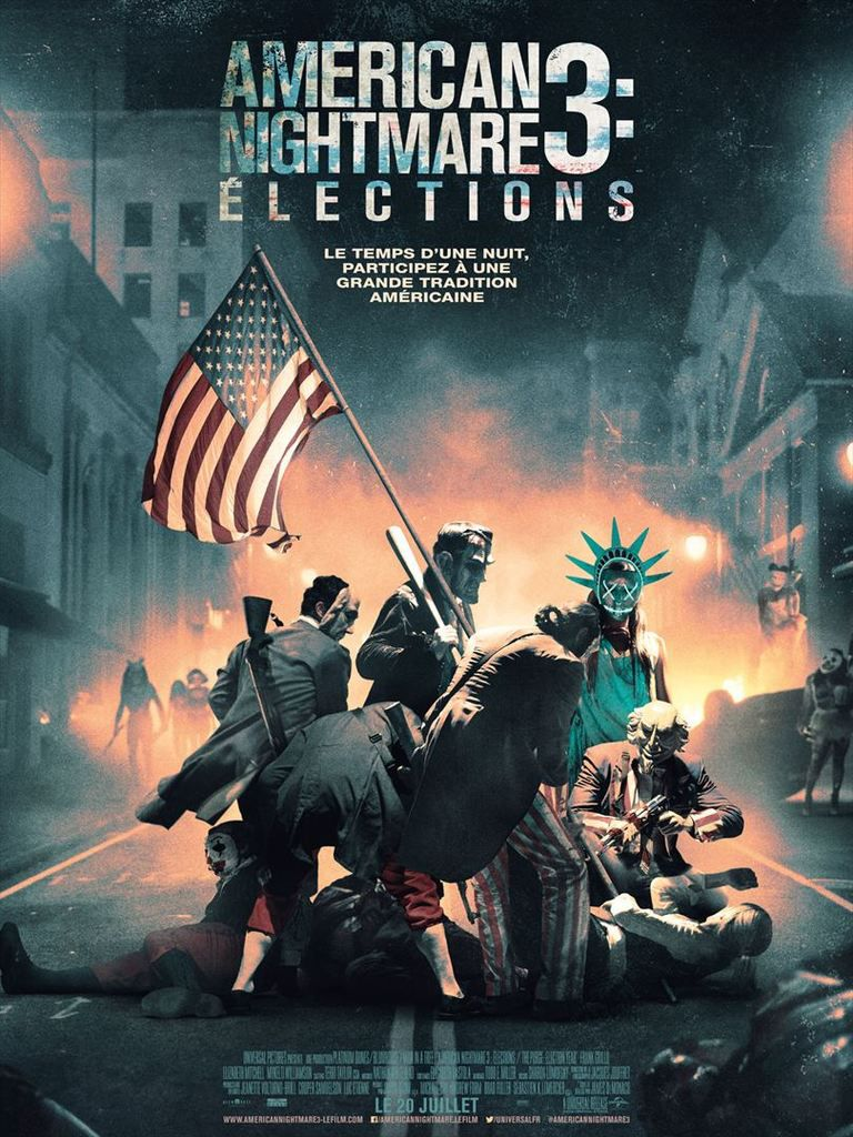 AMERICAN NIGHTMARE 3 : ELECTIONS (The Purge : Election year)