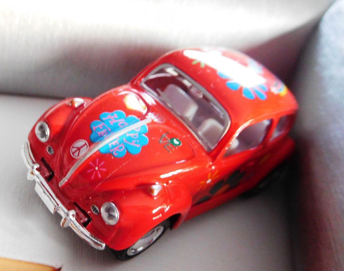 Encadrement Coccinelle et miniature VW