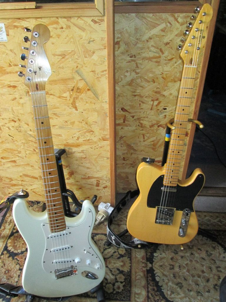 Statocaster us 92 et Maybach Teleman