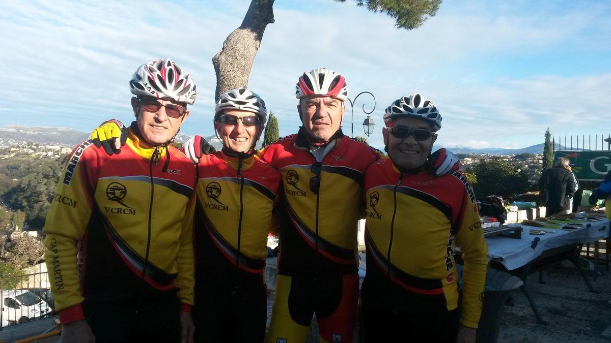Quatre courageux à Cagnes