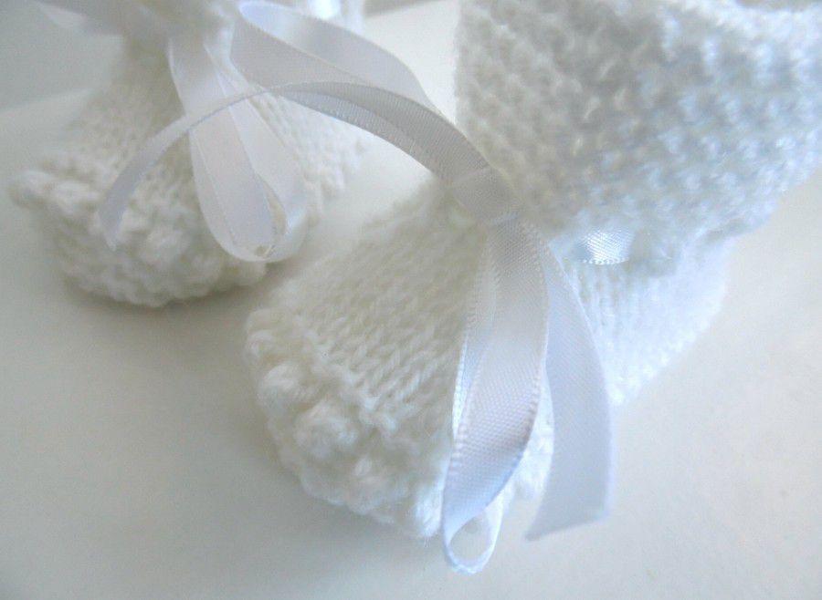 Layette chaussons, bottons, bottillons, tricot laine bébé fait main