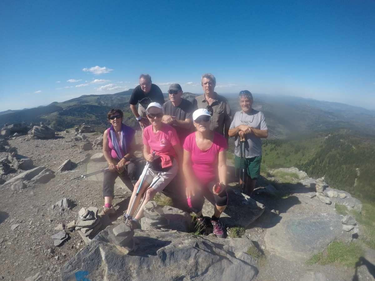 Des Godillots ont réussi l'ascension du Mont Gerbier de Jonc par sa face sud