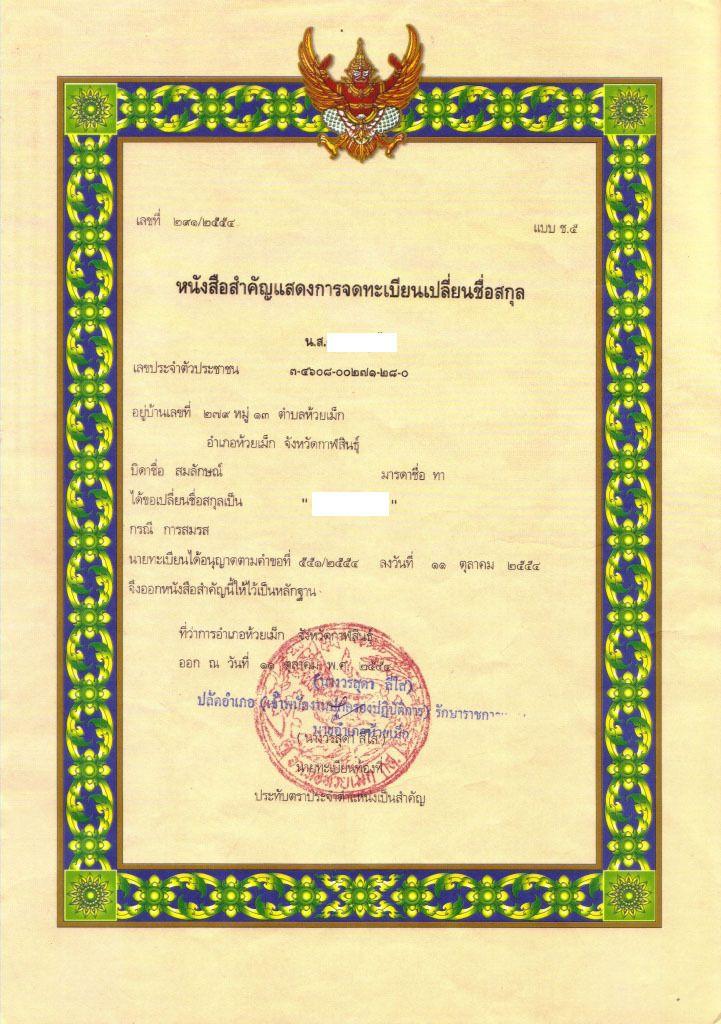 169. Rama VI crée l'état-civil siamois.