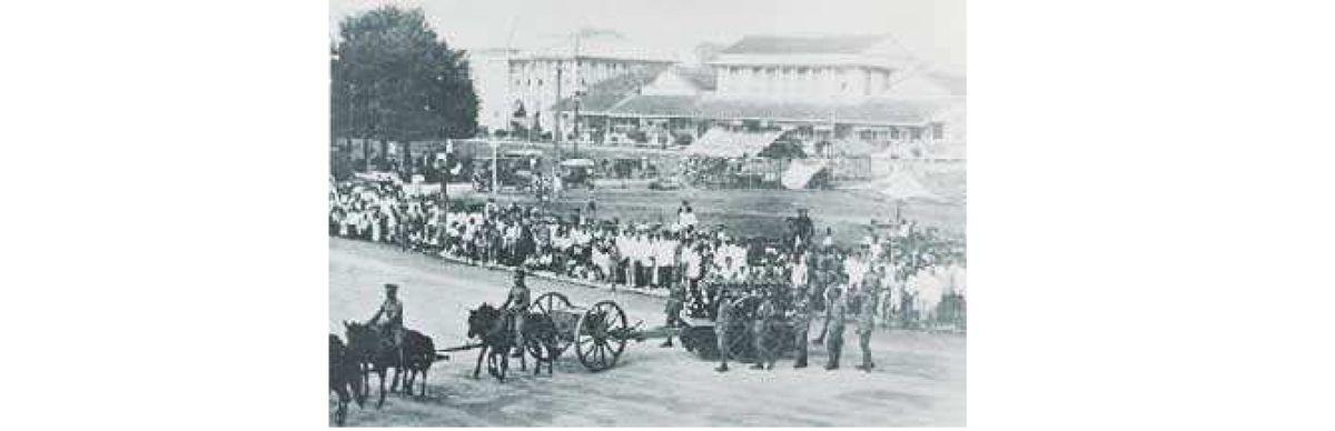 A 176 - Le mémorial de Bangkok à la mémoire des 19 militaires siamois morts au cours de la grande guerre