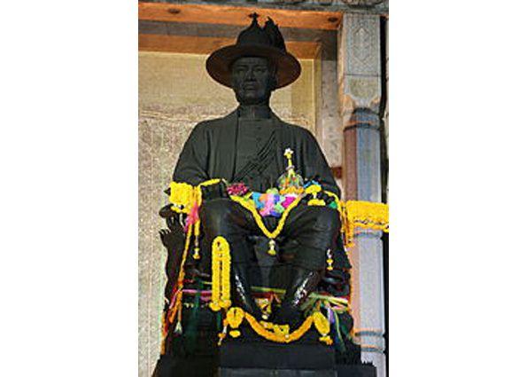 186 -  Avril 1932 : Rama VII fête le cent-cinquantième anniversaire  anniversaire de Bangkok.