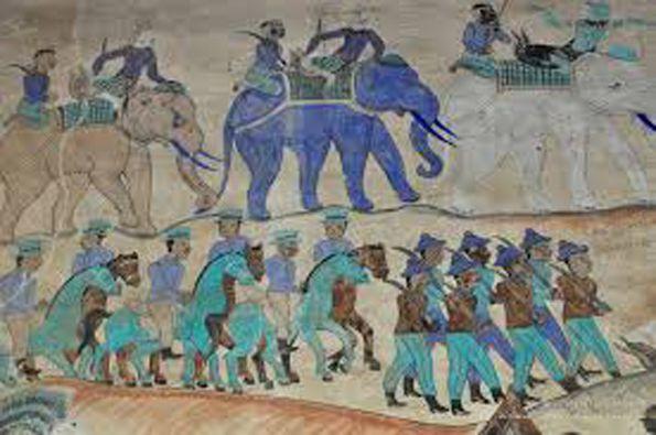 A 196 – LES PEINTURES MURALES, L'ÂME DES TEMPLES DU COEUR DE L'ISAN.