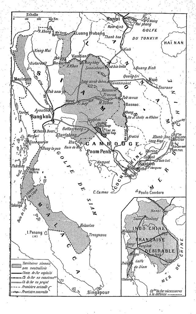 H 1- L'INCIDENT DE PAKNAM DU 13 JUILLET 1893 :  I - LES PRÉMICES : L'AFFAIRE GROSGURIN.