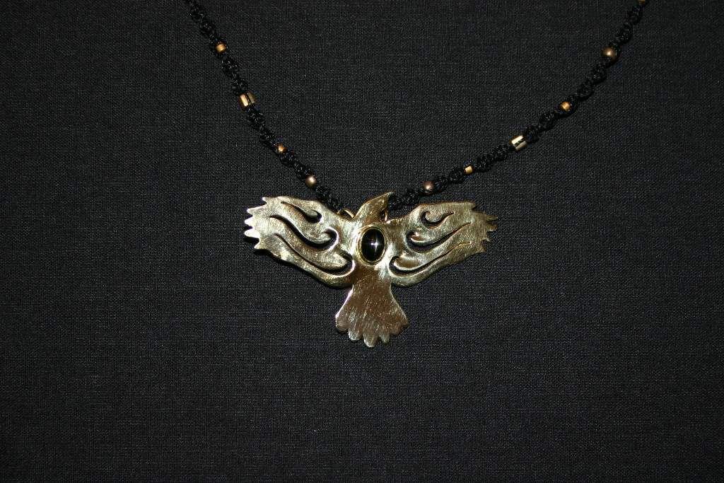 Bijoux il était une fois: Parure corbeau diopside étoilée