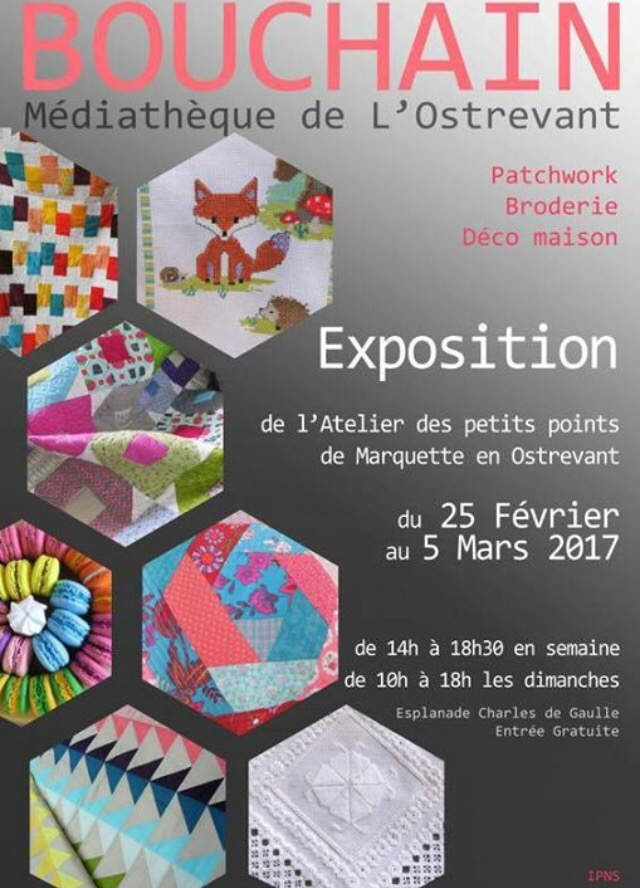Idée de sortie .... expo patchwork