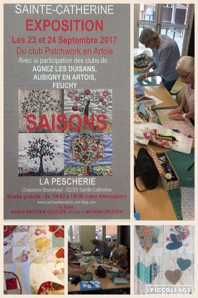 Exposition de patchwork à Sainte Catherine