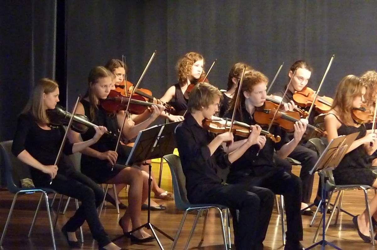 Concert symphonique le 1er juillet