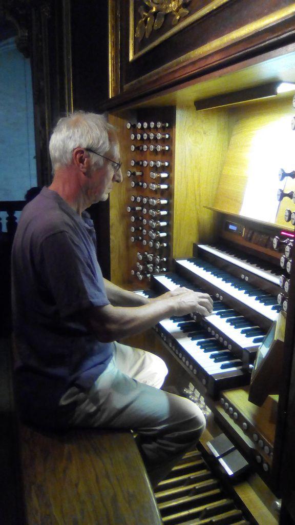 La classe d'orgue à Montpellier