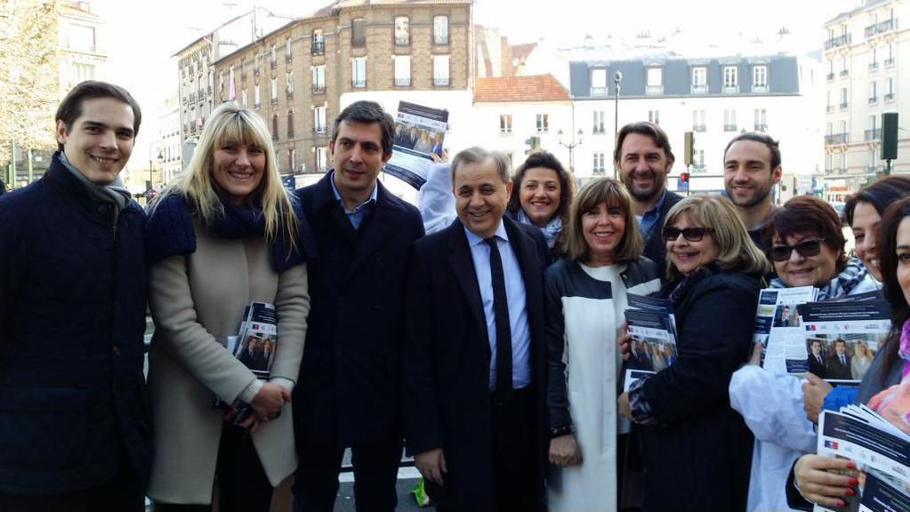 soutien indéfectible de Notre ami Roger Karoutchi Sénateur des Hauts de Seine