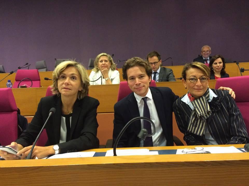 Dernière séance plénière à la Région avant le scrutin des 6 & 13 Décembre prochains. Avec Valérie Pécresse et Geoffroy Didier