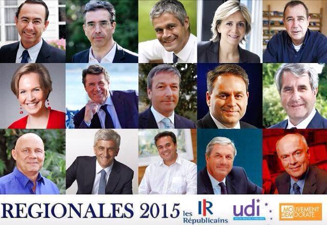 vos candidats aux régionales ! le changement c'est maintenant!