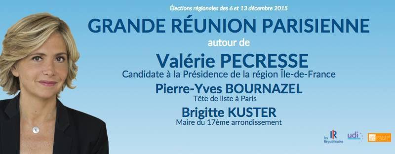 la dernière ligne droite - 30  jours ! votez Valérie Pecresse