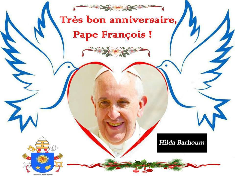Résultats de recherche d'images pour «Joyeux anniversaire pape François»