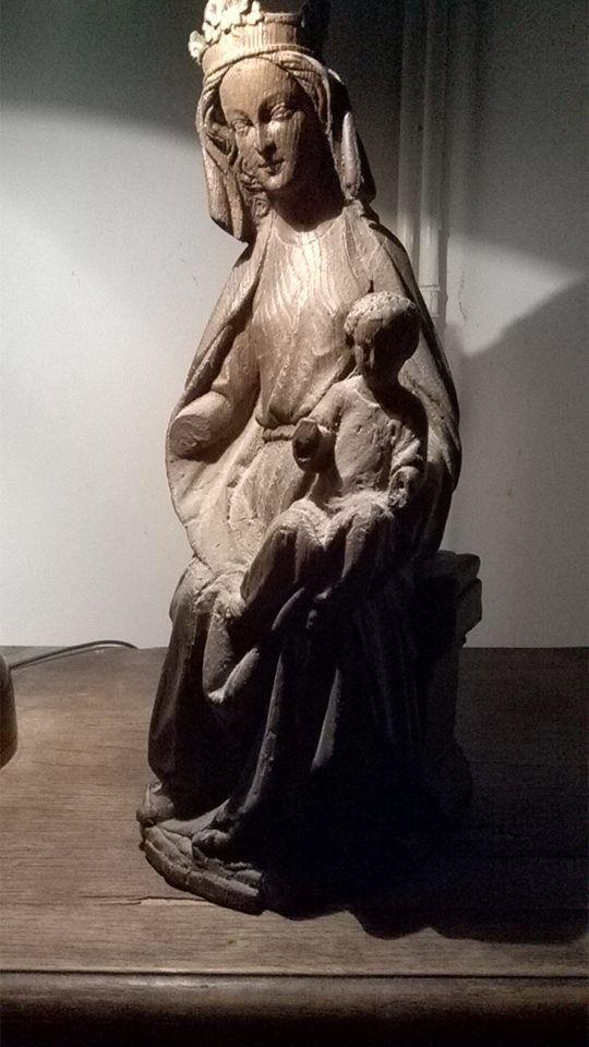 la vierge marie et l'enfant jésus ,