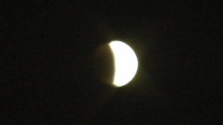 eclise de lune ce soir!