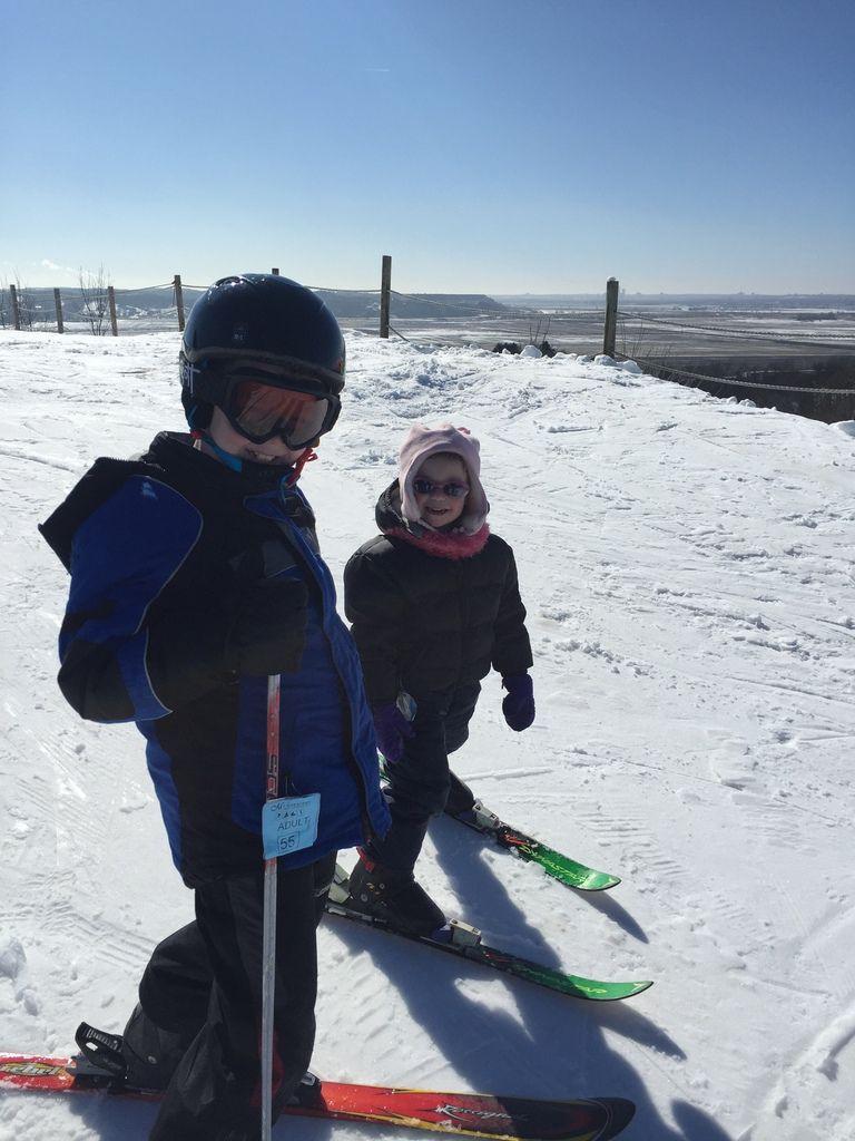 et encore du ski