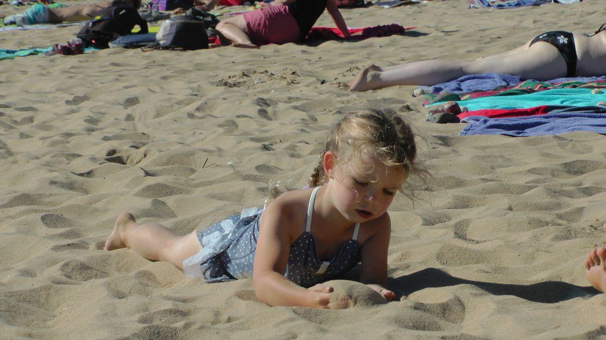 et encore la plage