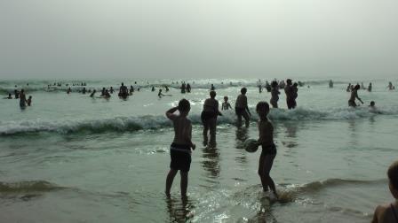 les joies des vacances: la plage