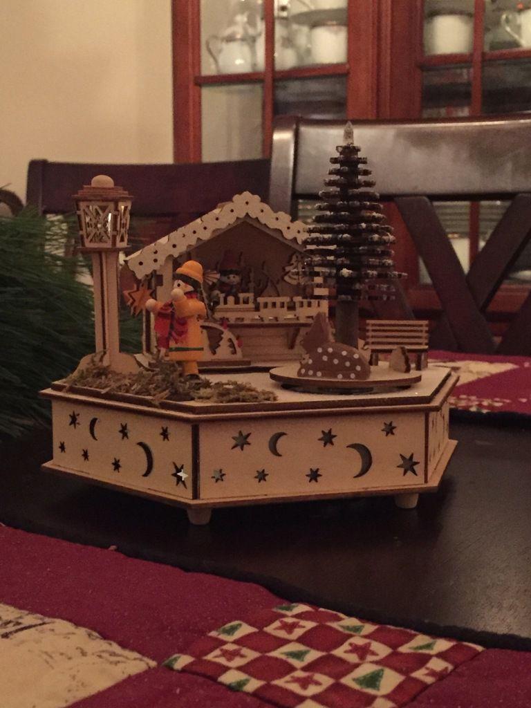 petit cababon de marche de Noel
