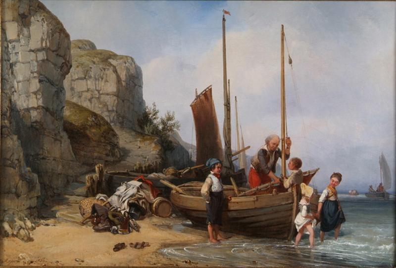 Charles Mozin, le peintre de Trouville