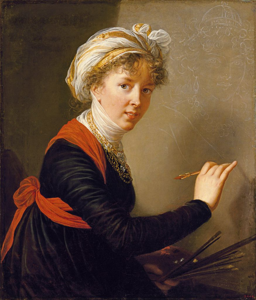Madame Vigée-Lebrun au Grand Palais