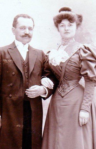 Mon grand-père et ma grand-mère paternels.