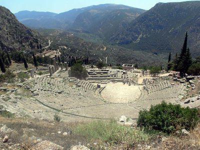 Delphes ou le royaume des dieux