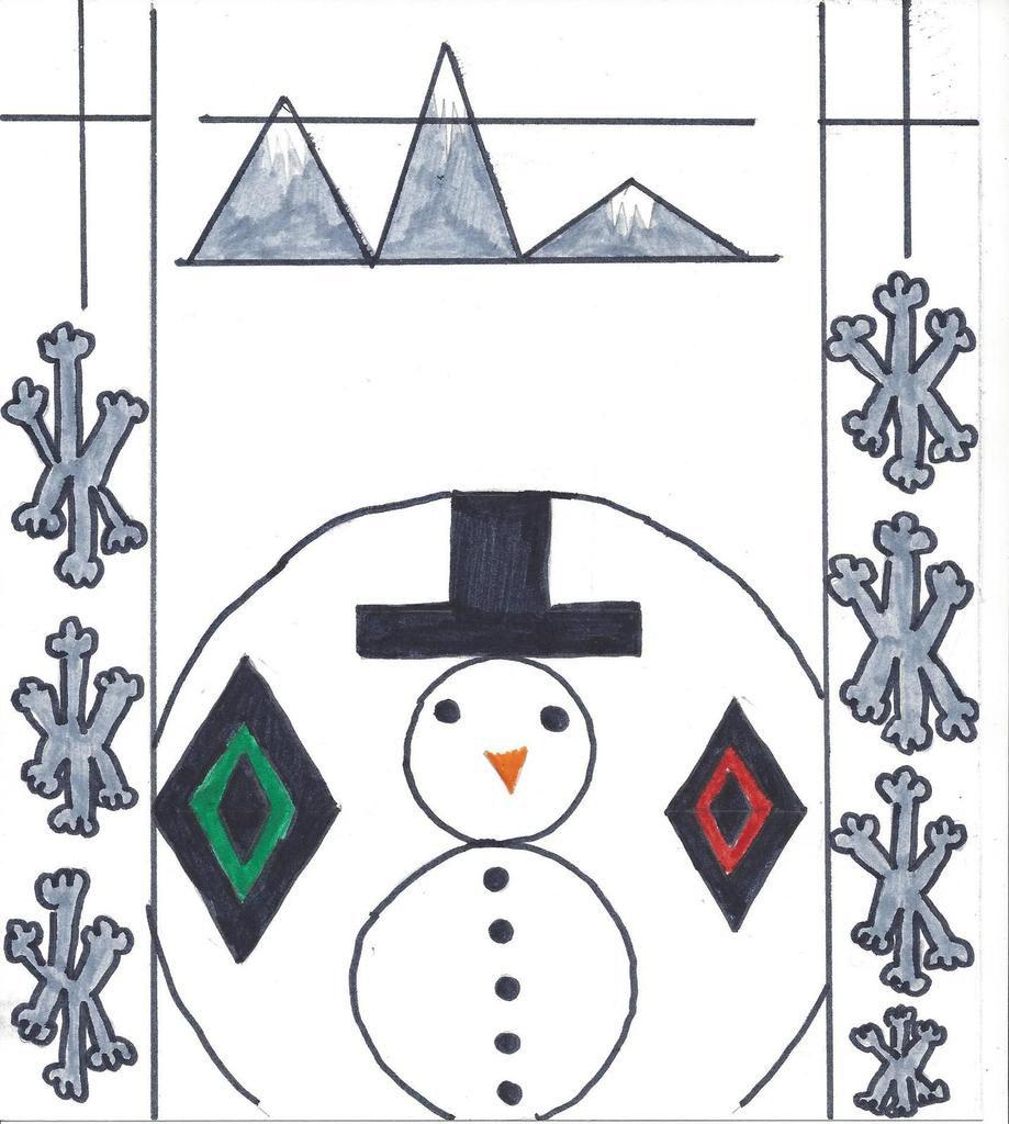 6ème1 - Concours de Noël - Les 10 plus belles oeuvres !
