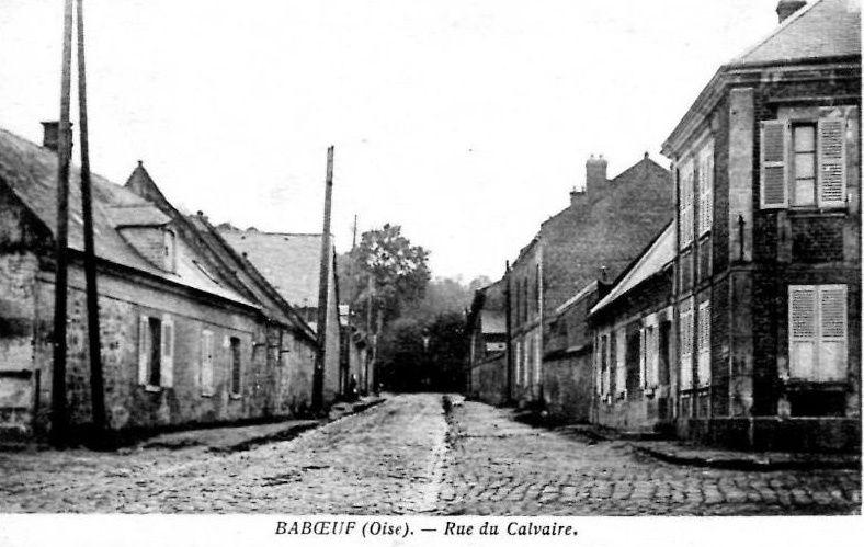Album - le village de Baboeuf (Oise), les rues et les placesi