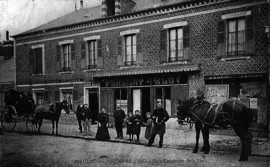 Album - le village de Beaulieu- les-Fontaines (Oise)