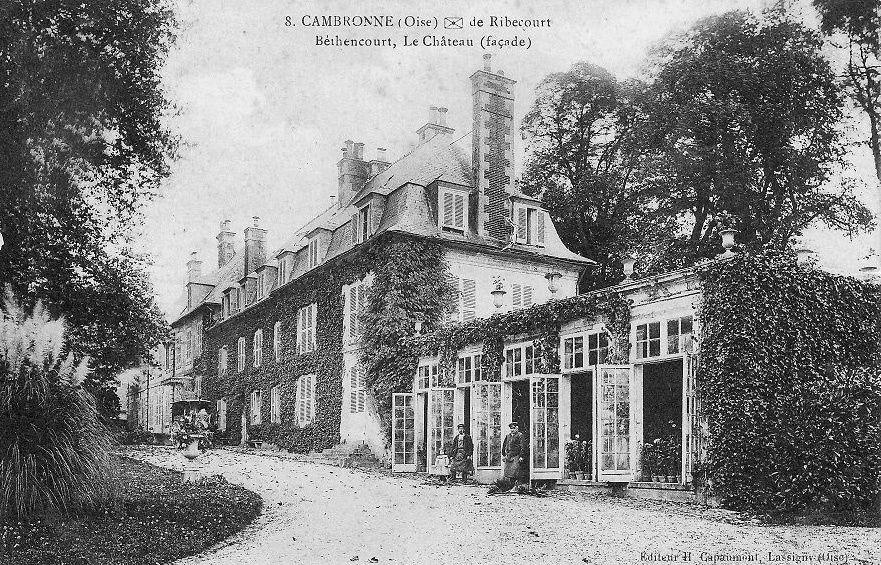 Album - le village de Cambronne-les-Ribécourt (Oise)